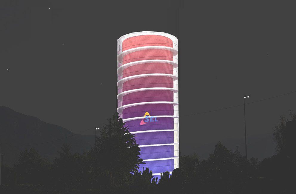 SEL Turm, Bozen, 2013