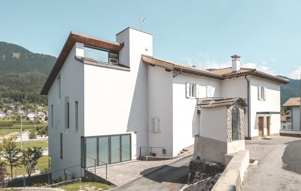 Casa Sighel, Baselga di Pinè, Trento, 2010