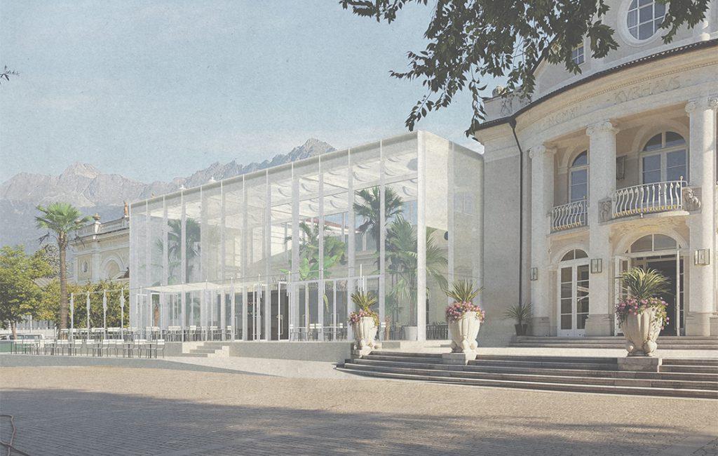 Erweiterung Kurhaus Meran, Wettbewerb 2019